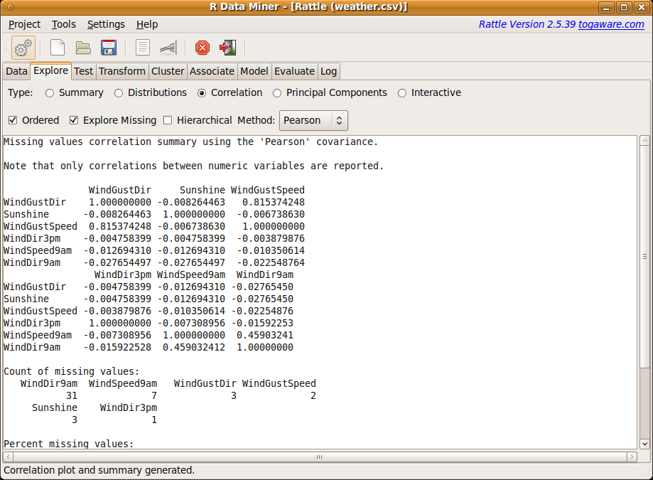Data Mining Survivor: Exploring_Data - Correlation Analysis